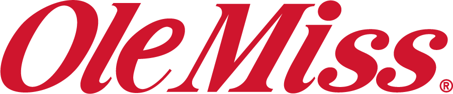 Mississippi Rebels Logo Wordmark Logo (2007-2011) - Ole Miss wordmark in new shade of red. Discontinued by 2011 after 25 years. SportsLogos.Net