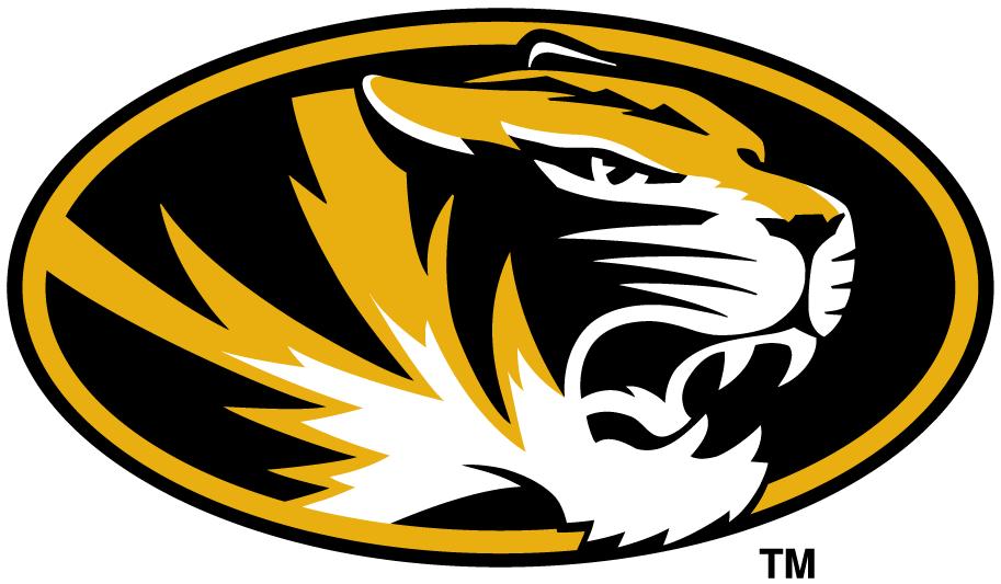 Missouri Tigers Logo Primary Logo (1996-Pres) - Tiger head in an oval SportsLogos.Net