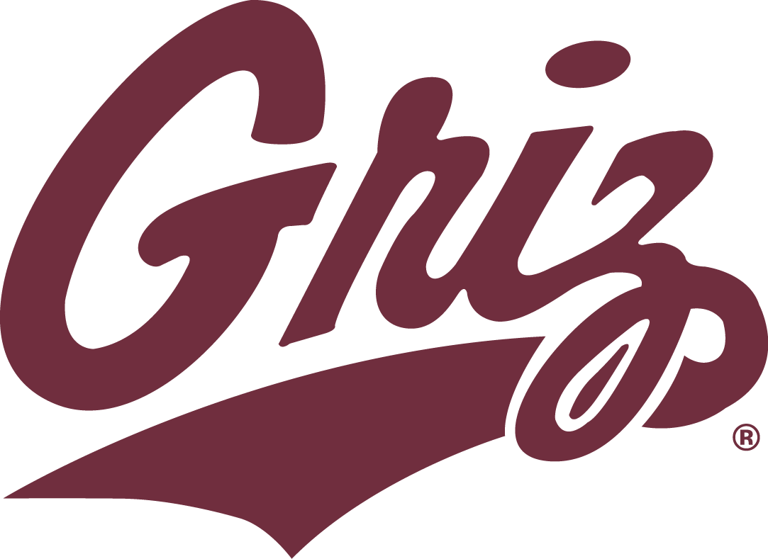 Montana Grizzlies Logo Secondary Logo (1996-Pres) -  SportsLogos.Net