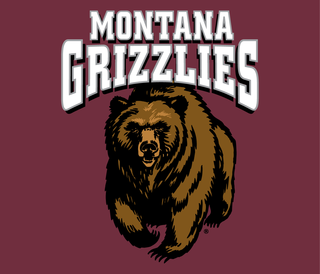 Montana Grizzlies Logo Primary Dark Logo (1996-Pres) -  SportsLogos.Net