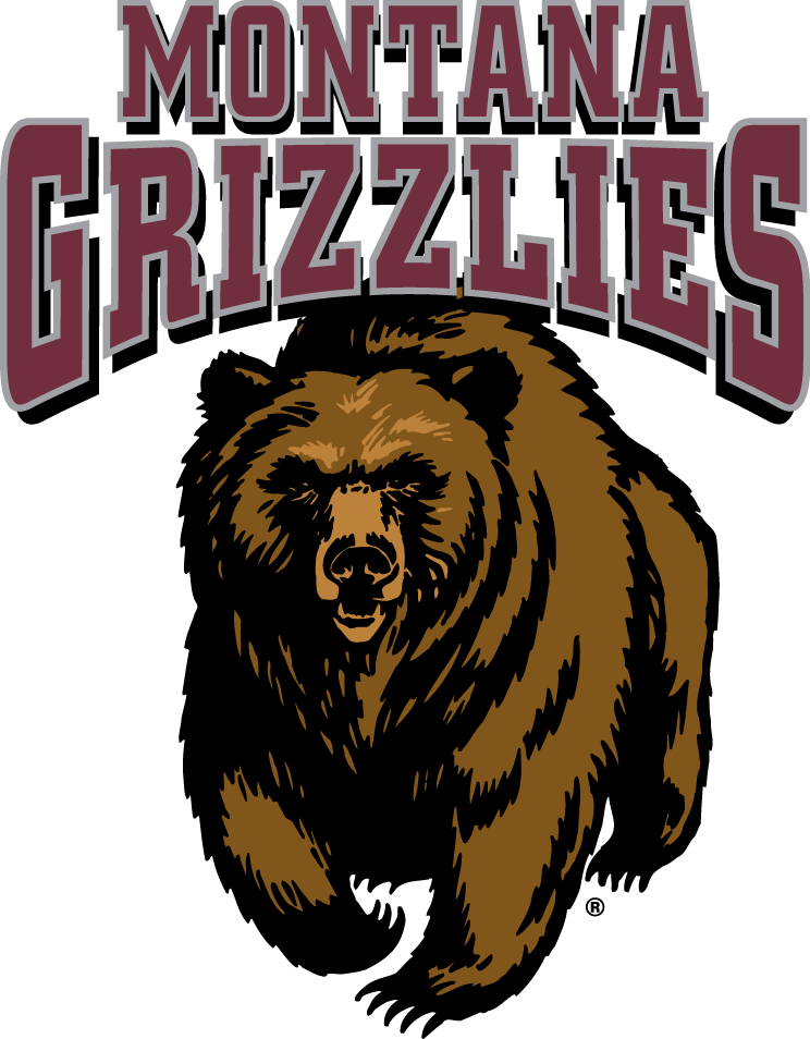 Montana Grizzlies Logo Primary Logo (1996-Pres) - Updated version of previous logo.   SportsLogos.Net