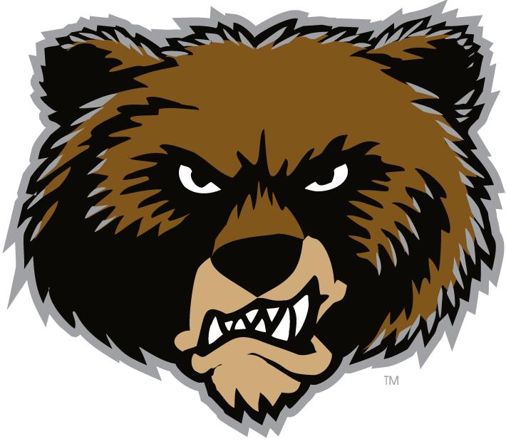 Montana Grizzlies Logo Alternate Logo (1996-Pres) - Bear head logo.   SportsLogos.Net