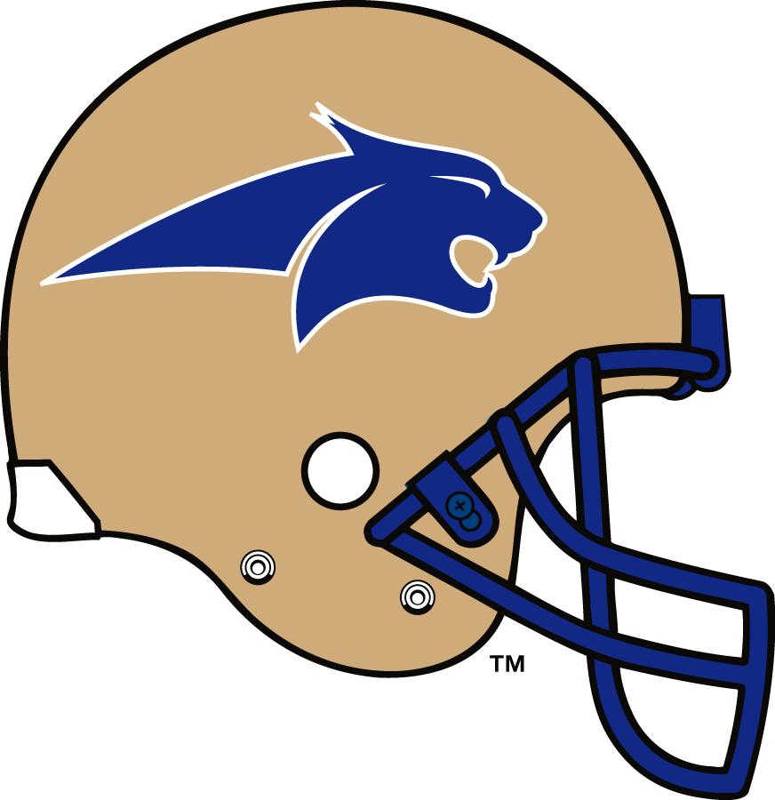 Montana State Bobcats Helmet Helmet (1997-2003) -  SportsLogos.Net