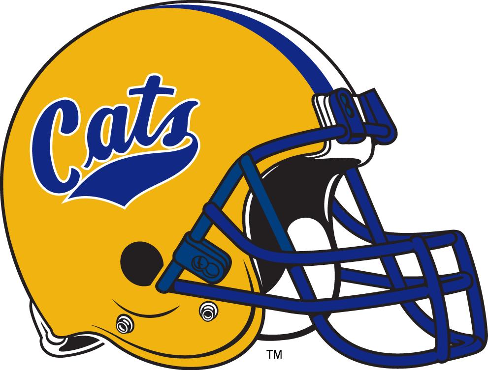Montana State Bobcats Helmet Helmet (1982-1990) -  SportsLogos.Net