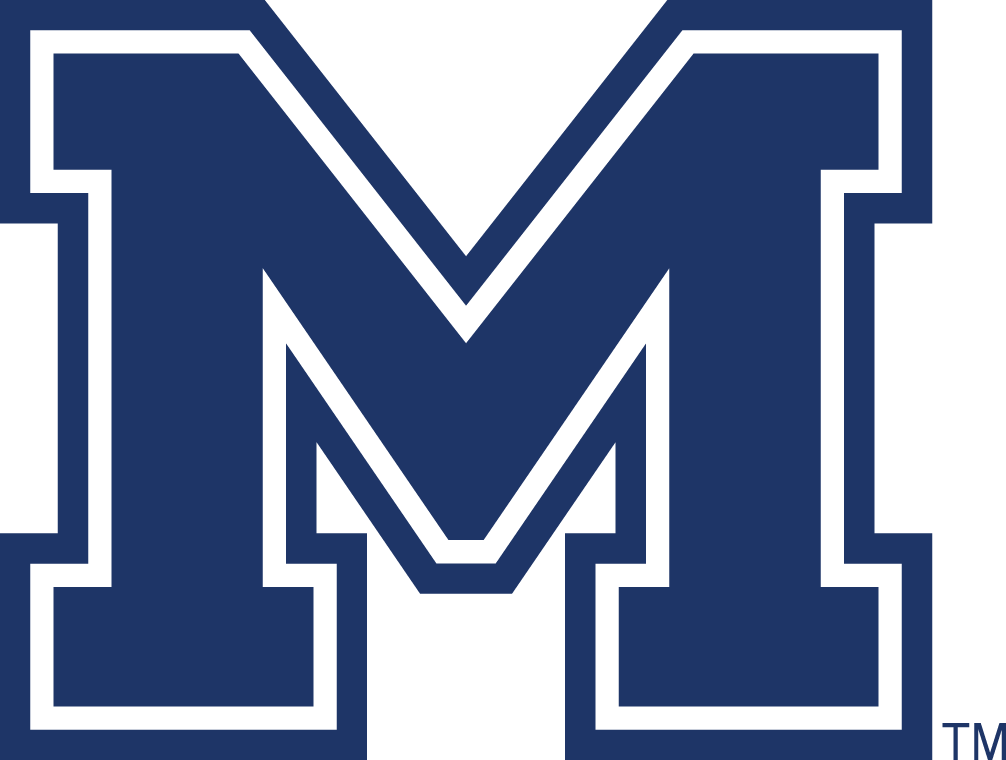 Montana State Bobcats Logo Secondary Logo (2004-2012) - Blue M SportsLogos.Net