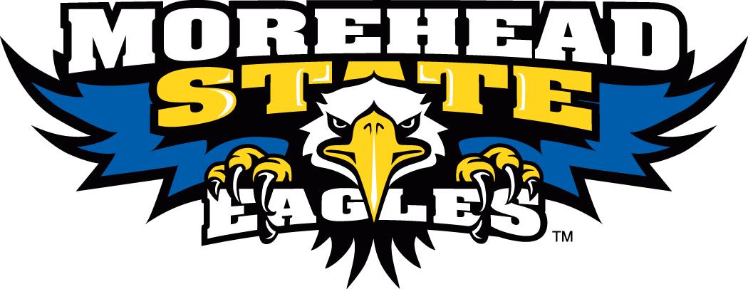 Morehead State Eagles Logo Primary Logo (2005-Pres) - Eagle with script SportsLogos.Net