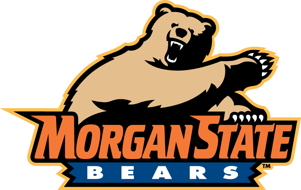 Morgan State Bears Logo Alternate Logo (2002-Pres) - 5 colour version of the primary logo SportsLogos.Net