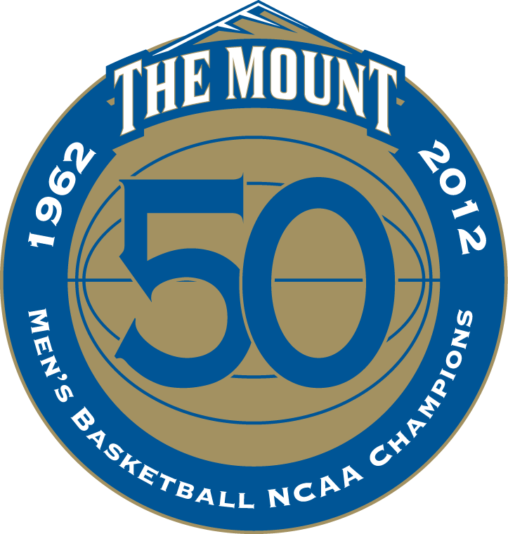 Mount St. Marys Mountaineers Logo Anniversary Logo (2012) -  SportsLogos.Net