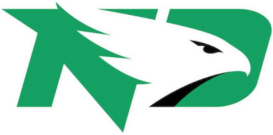 North Dakota Fighting Hawks Logo Primary Logo (2016-Pres) -  SportsLogos.Net