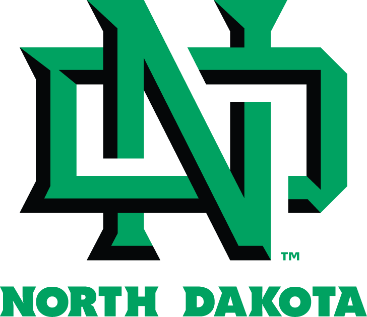 North Dakota Fighting Hawks Logo Primary Logo (2012-2015) - After more than a decade of controversy, the name Fighting Sioux, and logo were retired in 2012. On November 18, 2015 it was revealed at a press conference held by President Robert Kelley that Fighting Hawks, won the name the team vote with 57.24% score, and would become the new University nickname. SportsLogos.Net