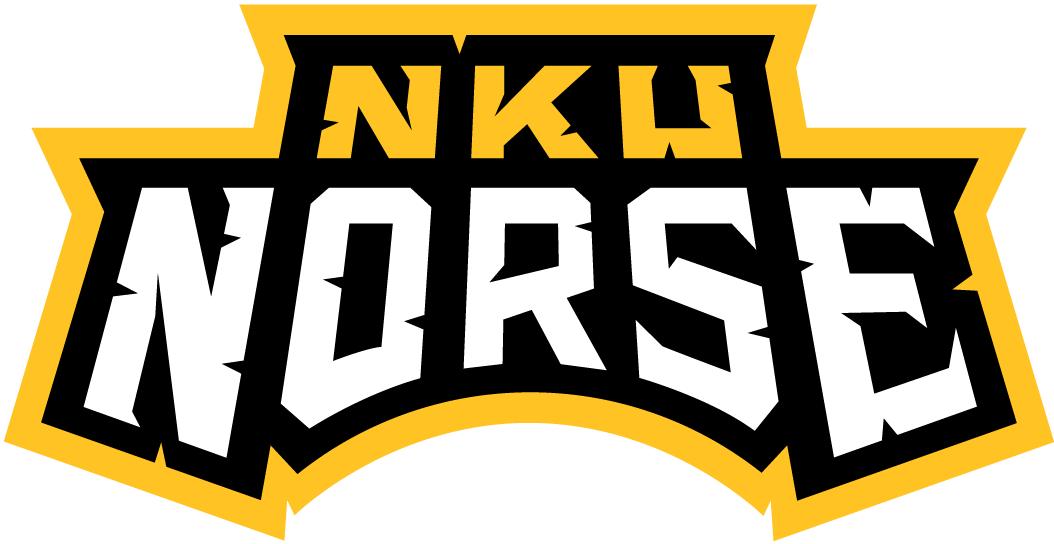 Northern Kentucky Norse Logo Wordmark Logo (2005-2015) -  SportsLogos.Net