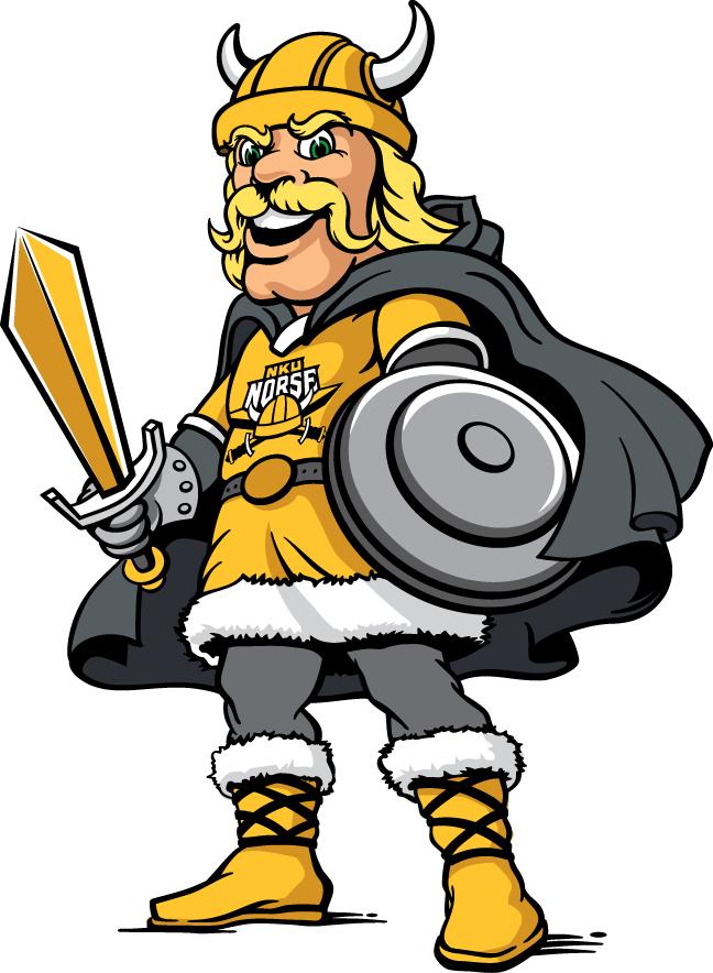 Northern Kentucky Norse Logo Mascot Logo (2016-Pres) -  SportsLogos.Net