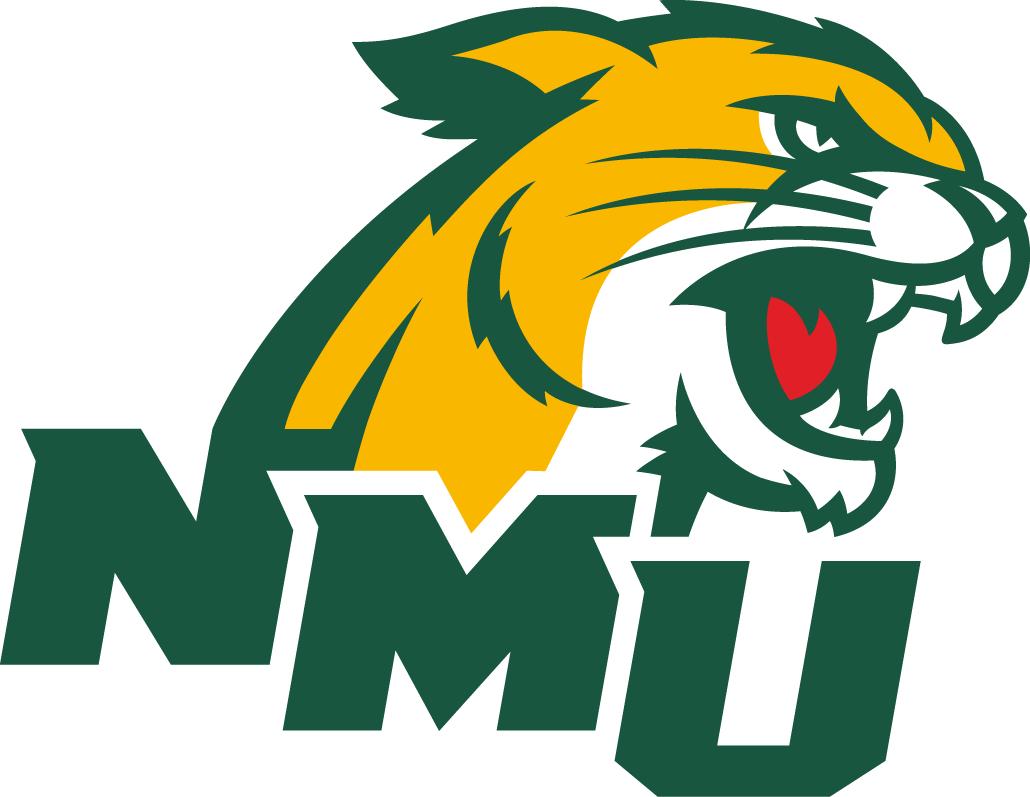 Northern Michigan Wildcats Logo Secondary Logo (2016-Pres) -  SportsLogos.Net