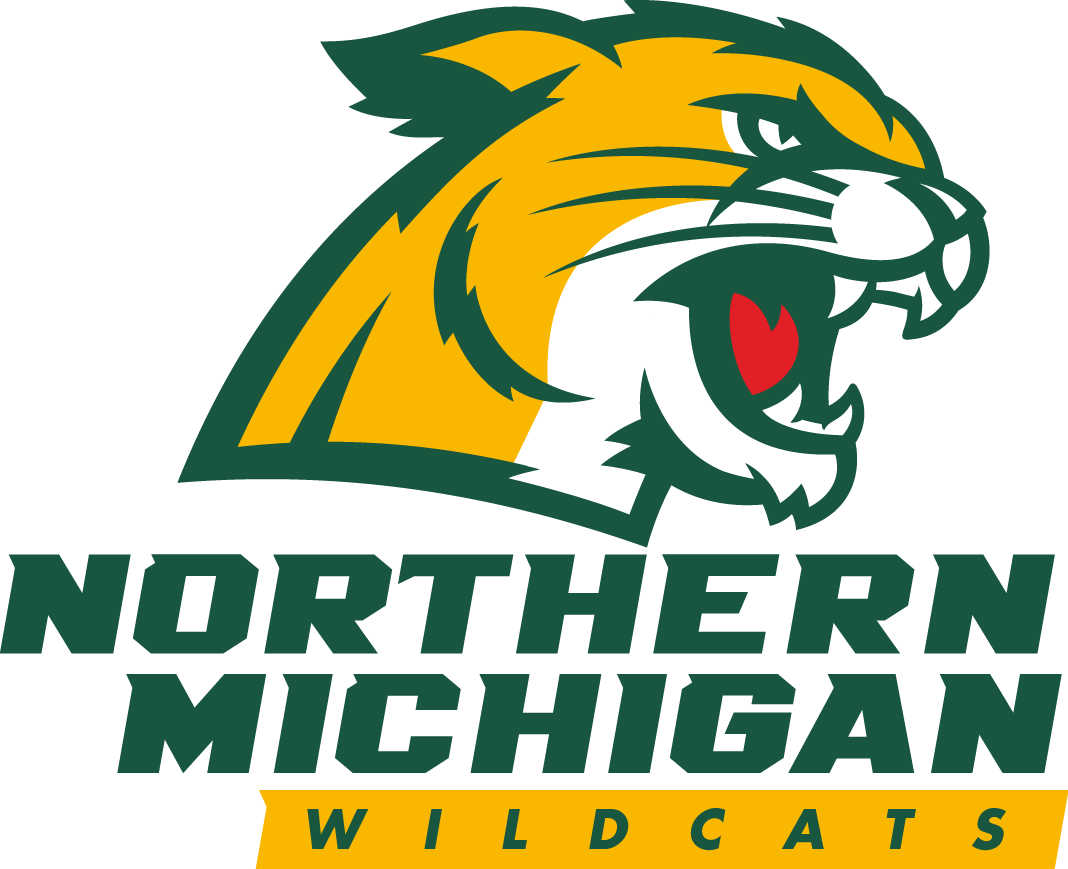 Northern Michigan Wildcats  Logo Primary Logo (2016-Pres) -  SportsLogos.Net