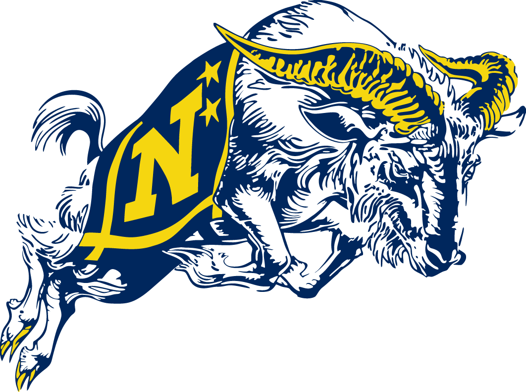 Navy Midshipmen Logo Secondary Logo (1998-Pres) -  SportsLogos.Net