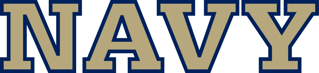 Navy Midshipmen Logo Wordmark Logo (1998-Pres) -  SportsLogos.Net