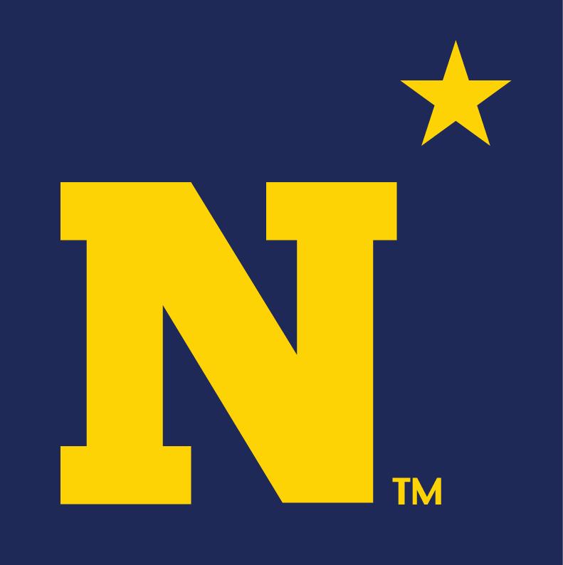 Navy Midshipmen Logo Alternate Logo (1942-Pres) -  SportsLogos.Net