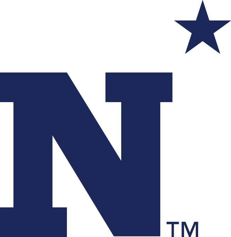 Navy Midshipmen Logo Primary Logo (1942-Pres) - N with star.   SportsLogos.Net