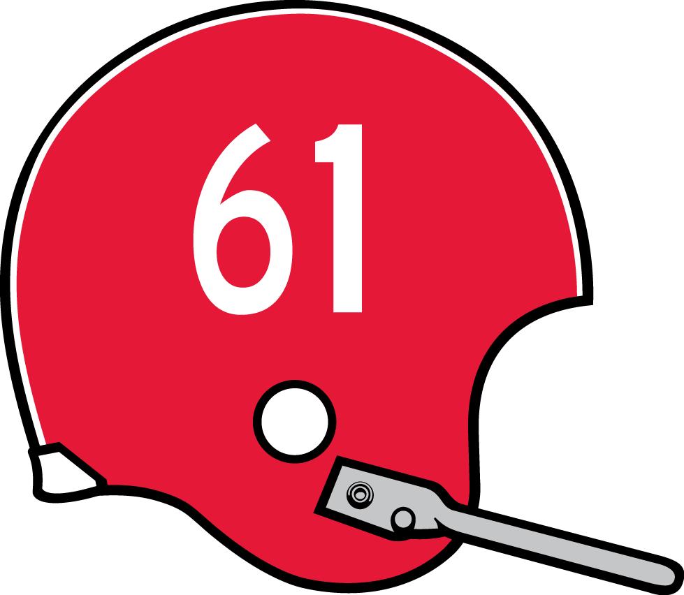 Nebraska Cornhuskers Helmet Helmet (1957-1960) -  SportsLogos.Net