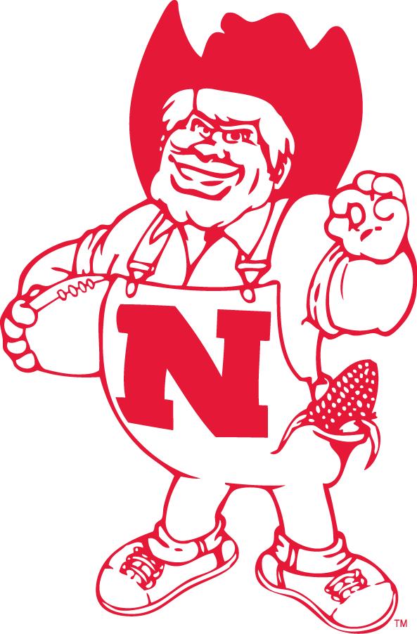 Nebraska Cornhuskers Logo Mascot Logo (1974-1991) -  SportsLogos.Net