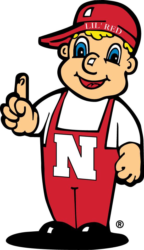 Nebraska Cornhuskers Logo Mascot Logo (2004-Pres) - Cornhuskers mascot - Lil Red SportsLogos.Net