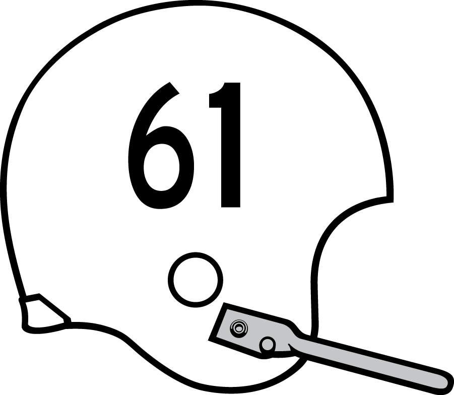 Nebraska Cornhuskers Helmet Helmet (1961-1965) -  SportsLogos.Net