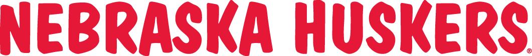 Nebraska Cornhuskers Logo Wordmark Logo (1974-2011) -  SportsLogos.Net