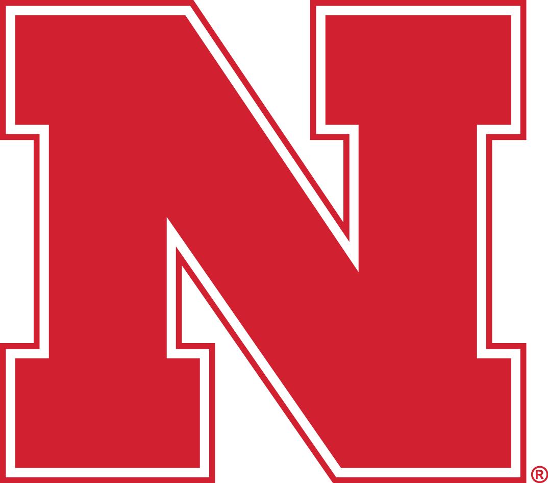 Nebraska Cornhuskers Logo Primary Logo (1970-Pres) - Block Red N SportsLogos.Net