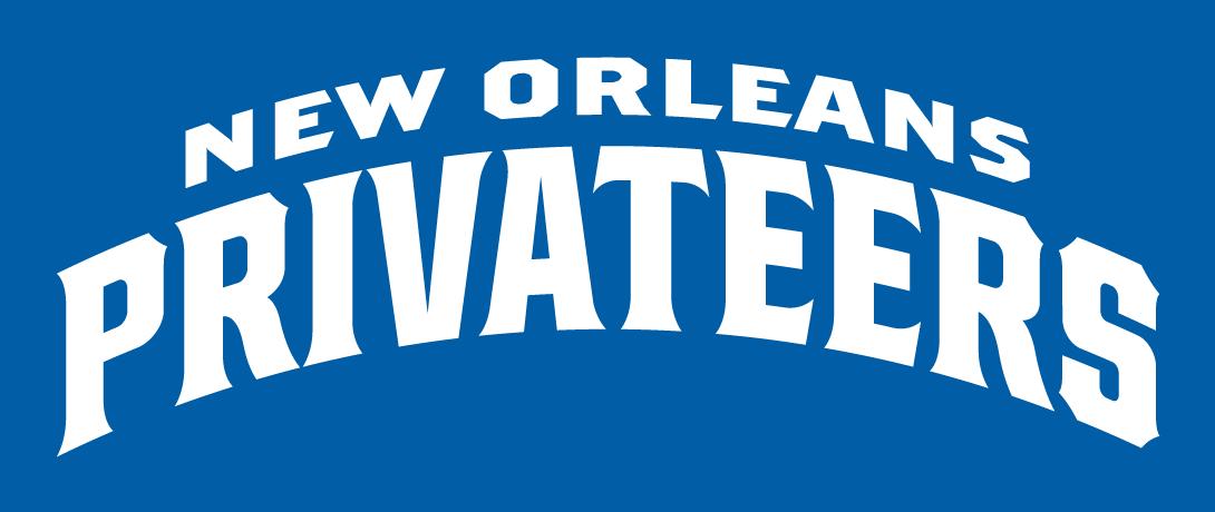 New Orleans Privateers Logo Wordmark Logo (2013-Pres) -  SportsLogos.Net