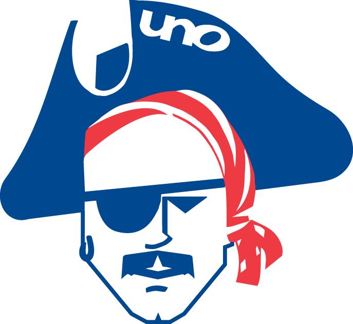 New Orleans Privateers Logo Primary Logo (1982-1995) -  SportsLogos.Net