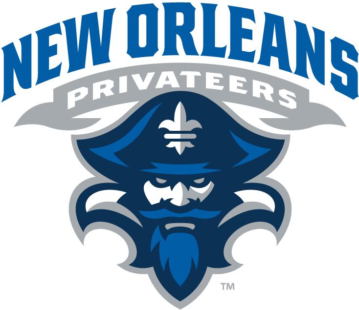 New Orleans Privateers Logo Primary Logo (2013-Pres) -  SportsLogos.Net