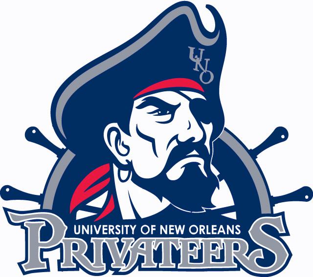New Orleans Privateers Logo Primary Logo (2011-2012) -  SportsLogos.Net