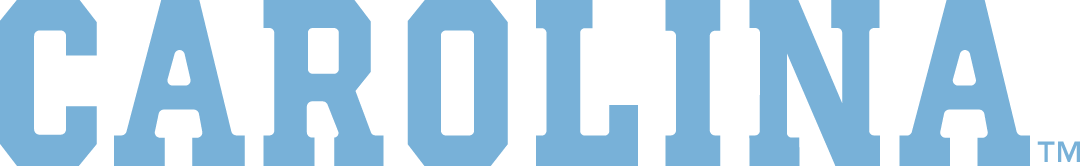 North Carolina Tar Heels Logo Wordmark Logo (2015-Pres) -  SportsLogos.Net