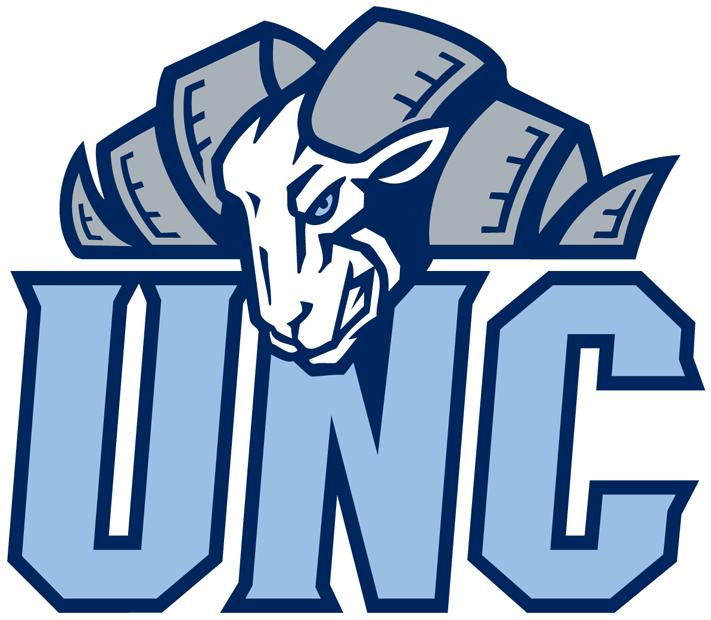 North Carolina Tar Heels Logo Alternate Logo (1999-2014) - Rams head over Carolina blue UNC SportsLogos.Net