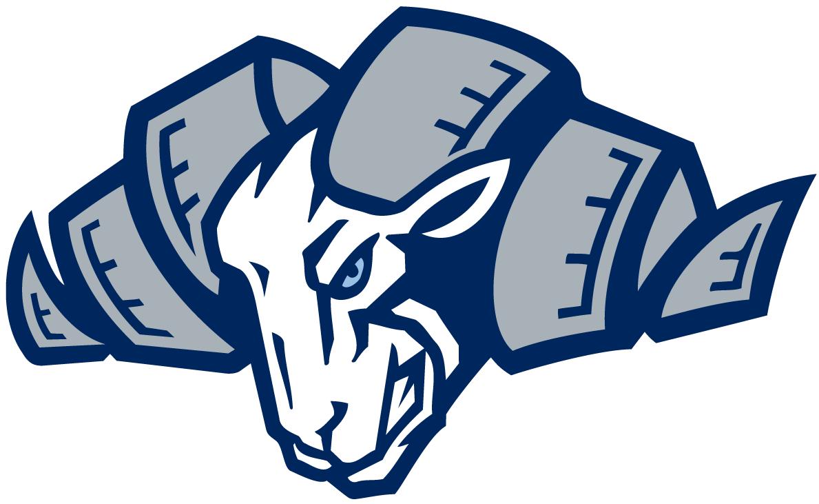 North Carolina Tar Heels Logo Alternate Logo (1999-2014) - Angry Ram's head SportsLogos.Net