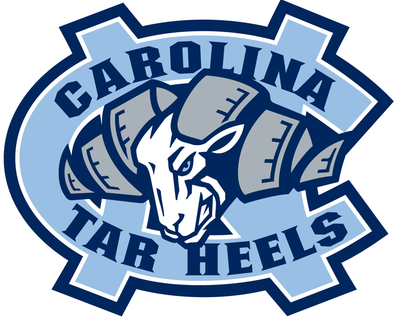 North Carolina Tar Heels Logo Primary Logo (1999-2004) -  SportsLogos.Net