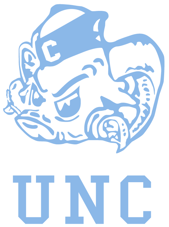 North Carolina Tar Heels Logo Primary Logo (1968-1982) -  SportsLogos.Net