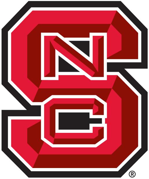 North Carolina State Wolfpack Logo Alternate Logo (2006-Pres) - A beveled version of the primary logo. SportsLogos.Net