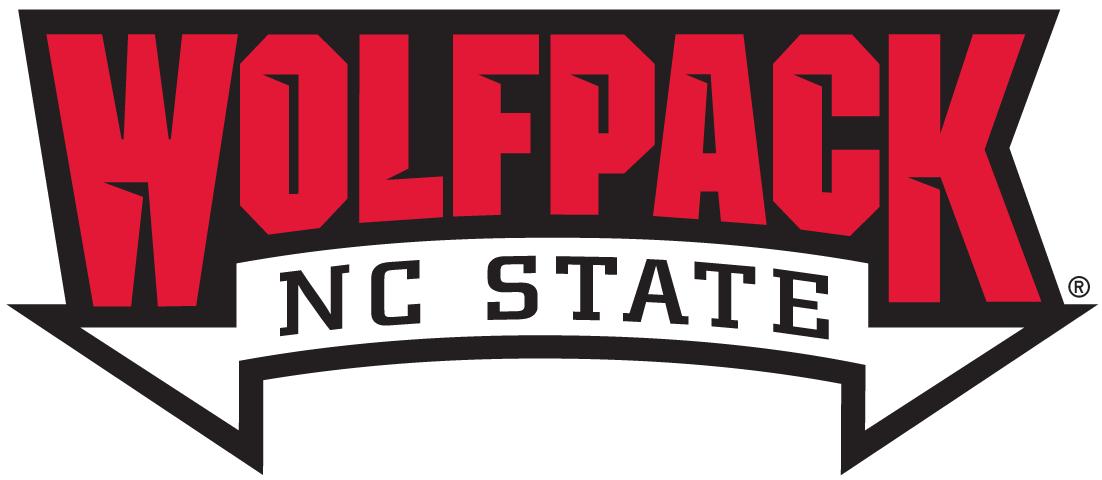 North Carolina State Wolfpack Logo Wordmark Logo (2006-Pres) -   SportsLogos.Net