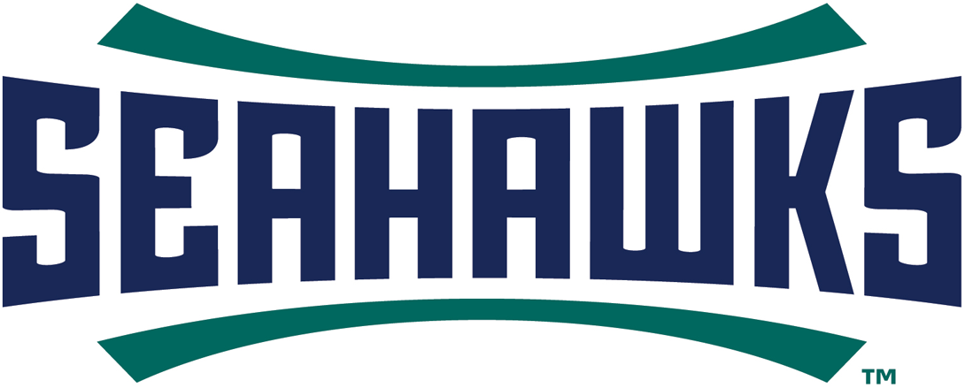 NC-Wilmington Seahawks Logo Wordmark Logo (2015-Pres) -  SportsLogos.Net