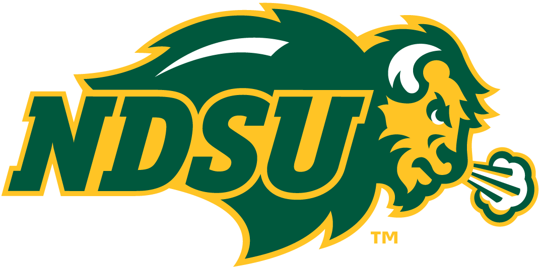 North Dakota State Bison Logo Primary Logo (2012-Pres) - Bison with NDSU SportsLogos.Net