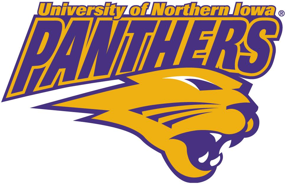 Northern Iowa Panthers Logo Secondary Logo (2002-2014) -  SportsLogos.Net