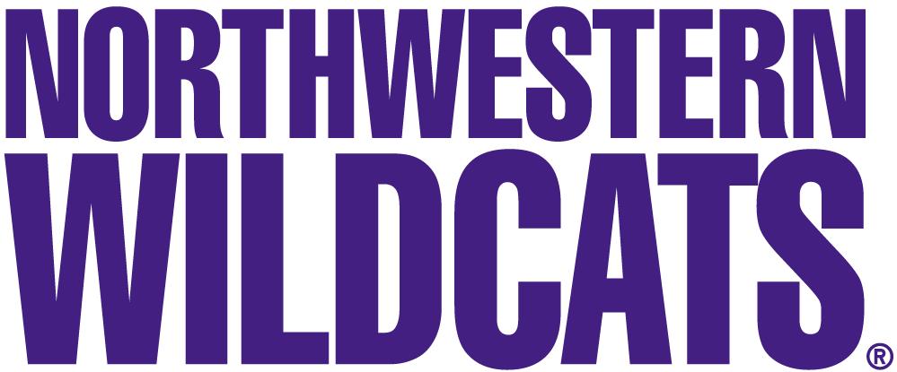 Northwestern Wildcats Logo Wordmark Logo (1981-Pres) -  SportsLogos.Net
