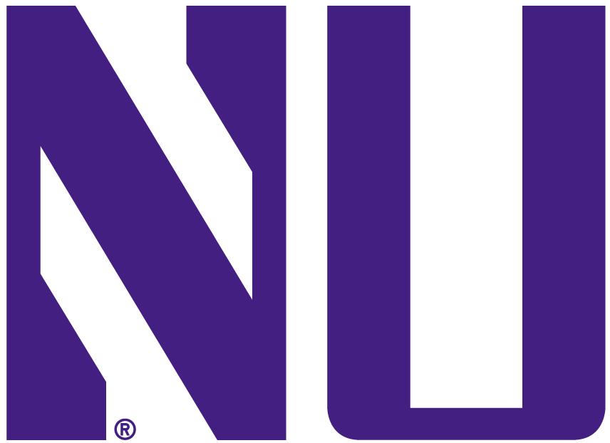 Northwestern Wildcats Logo Alternate Logo (1981-Pres) - Purple NU SportsLogos.Net