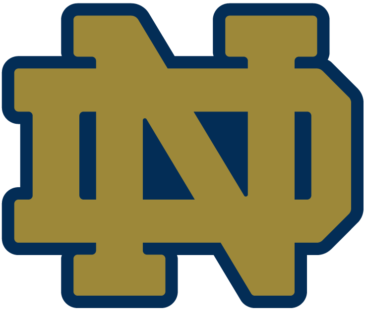 notre dame fighting irish alternate logo ncaa division i n r rh sportslogos net notre dame university logo vector notre dame fighting irish logo vector
