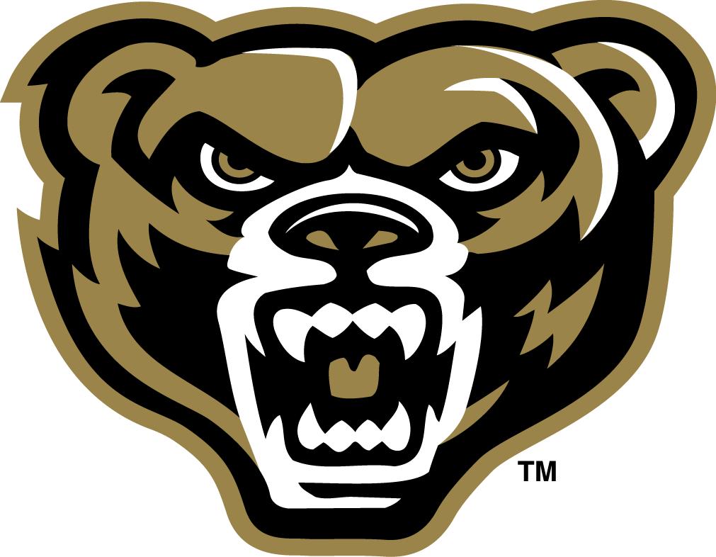 Oakland Golden Grizzlies Logo Primary Logo (2012-Pres) -  SportsLogos.Net