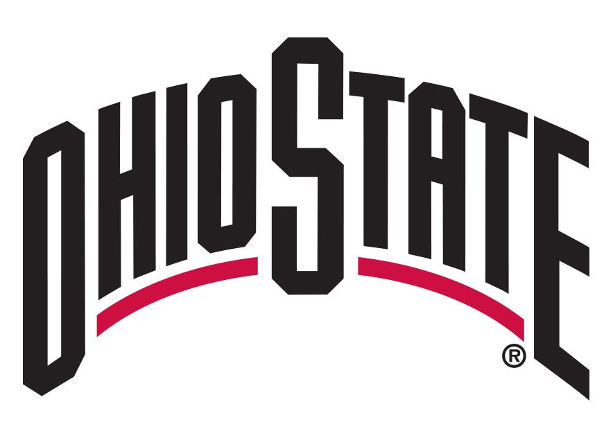 ohio state buckeyes wordmark logo ncaa division i n r ncaa n r rh sportslogos net  ohio state university logo font