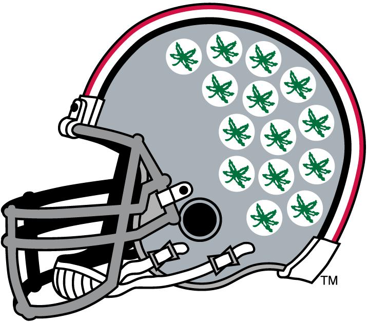 Ohio State Buckeyes Helmet Helmet (1968-Pres) -  SportsLogos.Net