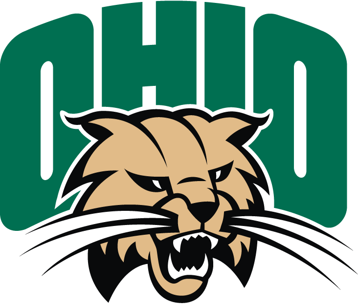 Ohio Bobcats Logo Primary Logo (1999-Pres) - Bobcat under script SportsLogos.Net