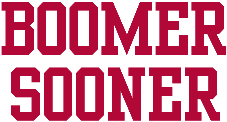 Oklahoma Sooners Logo Wordmark Logo (2000-Pres) -  SportsLogos.Net